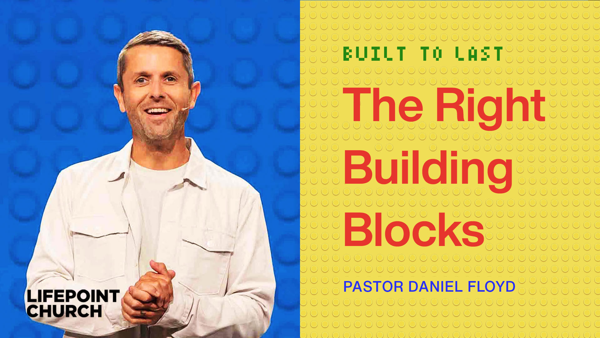 The Right Building Blocks